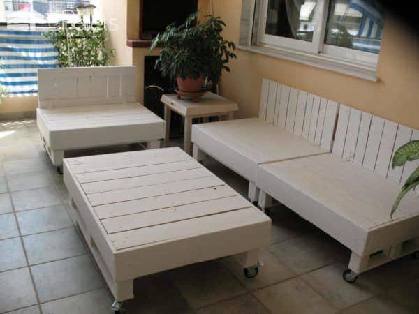 Terrace Pallet Lounge Lounges & Garden Sets