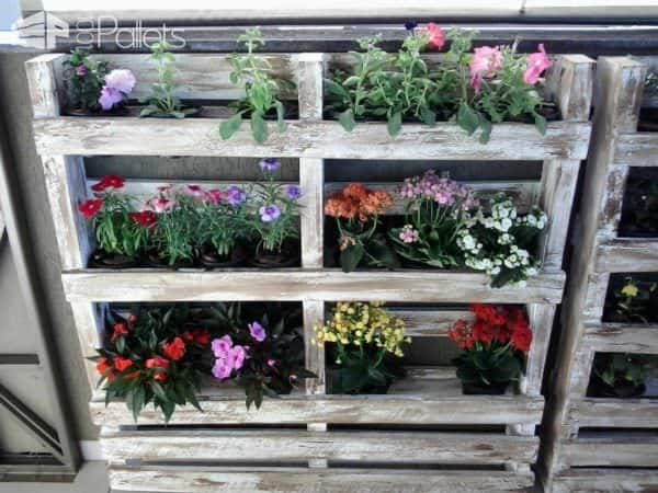 Pallets Wall Planter In My Garden Pallet Planters & Compost Bins