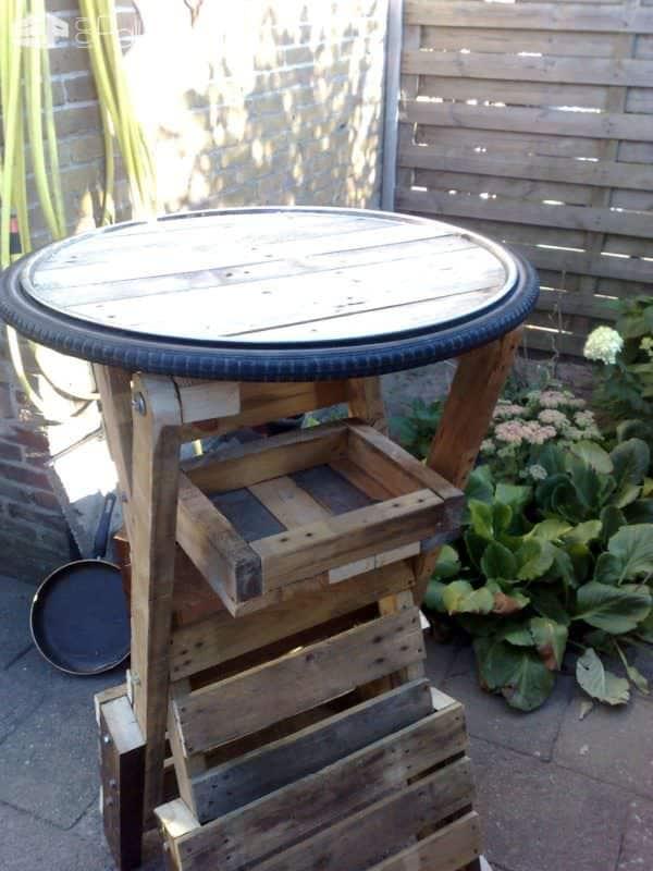 High Table Or Bar Table Pallet Bars Pallet Desks & Pallet Tables