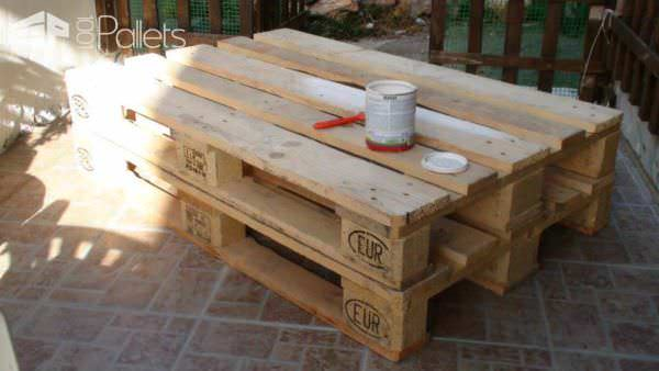 My Pallet Coffee Table Pallet Coffee Tables