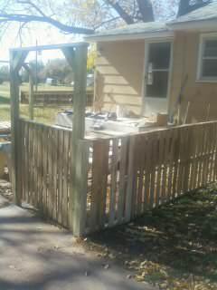 Pallet Fence Pallet Fences