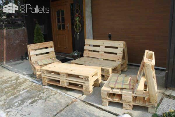 Pallets Accessories & Furniture Lounges & Garden Sets