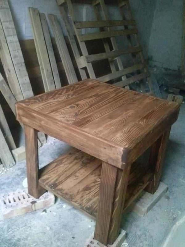 Recycled Pallet Table Pallet Desks & Pallet Tables