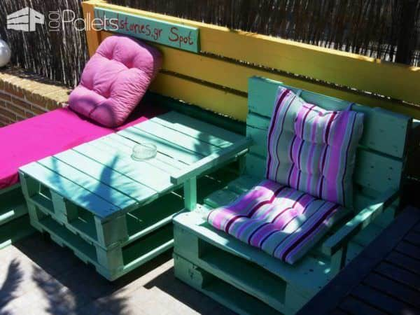 Woodstories Pallet Benches, Pallet Chairs & Stools