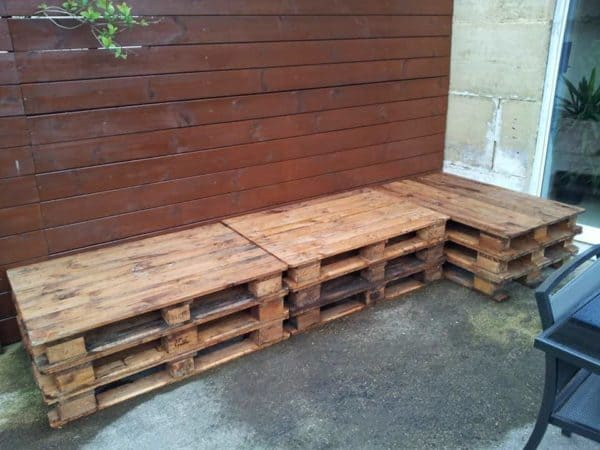 Outdoor Lounge With Pallets Lounges & Garden Sets