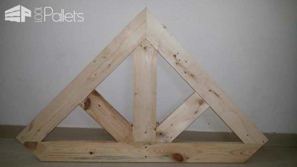 Pallet Corner Table For Crt-tv Pallet Desks & Pallet Tables
