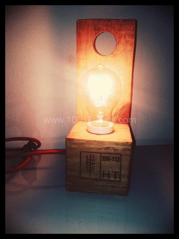 Pallet Lamp Pallet Lamps & Lights