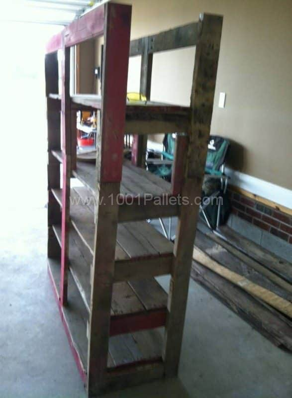 Pallet Shoe Racks Pallet Shelves & Pallet Coat Hangers