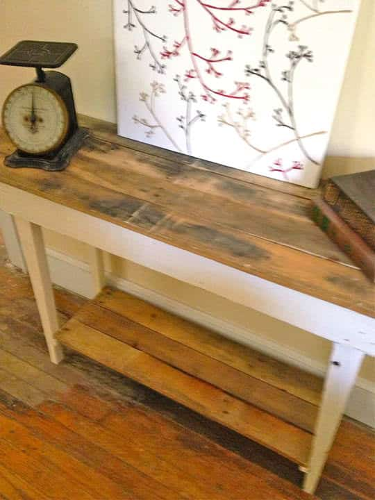 Pallet Wood Table Pallet Desks & Pallet Tables