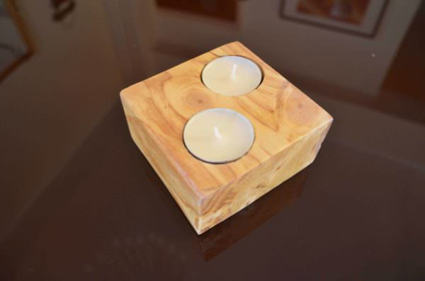 Tealights From Pallet Wood Pallet Home Accessories