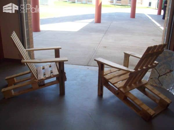 Adk Pallet Chairs Pallet Benches, Pallet Chairs & Stools