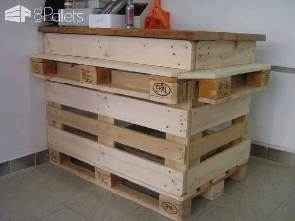 Ideas of Pallet Furnitures for a Store Pallet Furniture Pallet Store, Bar & Restaurant Decorations
