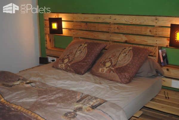Pallet Bed & Headboard Pallet Beds, Pallet Headboards & Frames