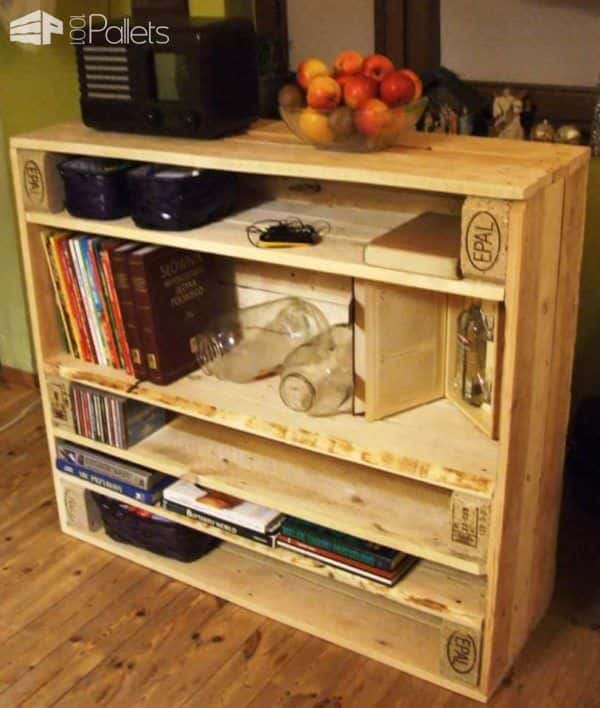 Pallet Console Pallet Cabinets & Wardrobes