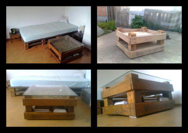 Pallet Table Pallet Desks & Pallet Tables