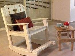 From A 2 B: Pallet Rocking Chair Pallet Benches, Pallet Chairs & Stools