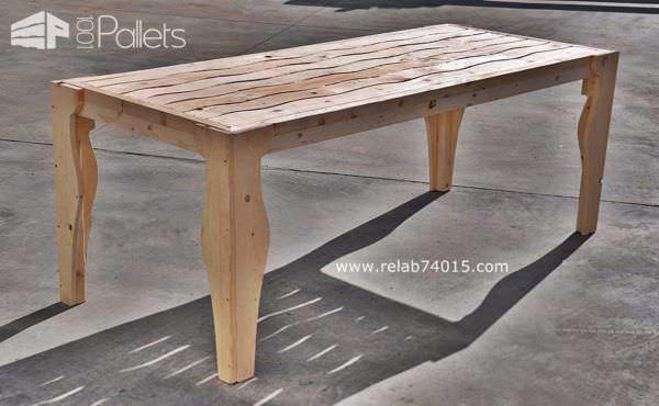Onda Lignea Pallet Table Pallet Desks & Pallet Tables
