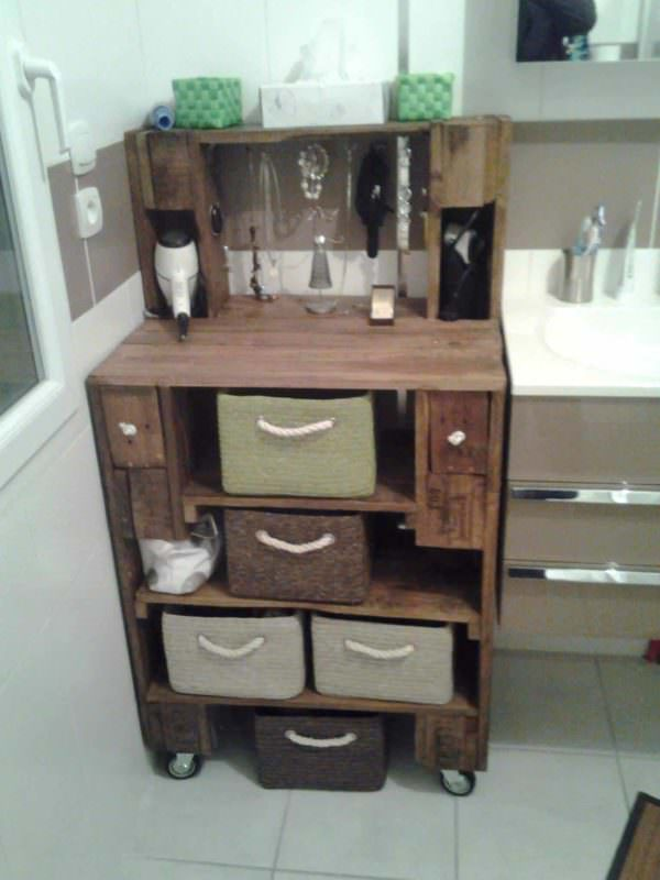 Pallet Bathroom Furniture Pallet Boxes & Chests