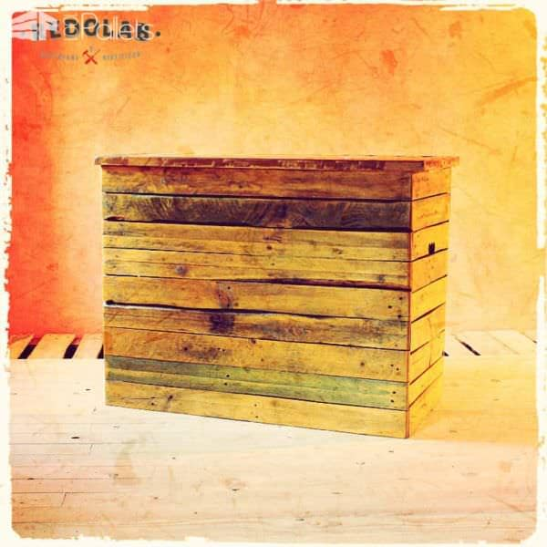 Pallet Table And Box Pallet Boxes & Chests