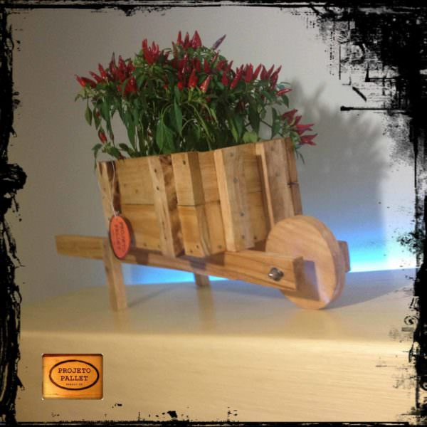 Pallet Wheelbarrow Planter Pallet Planters & Compost Bins