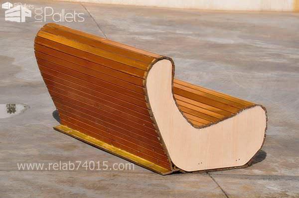 Wooden Shutter Flexa Sofa Pallet Benches, Pallet Chairs & Stools
