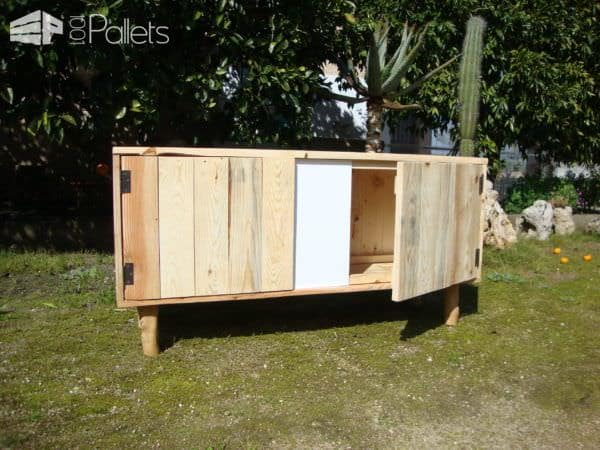 Naturino Pallet Cabinet From Pallet & Olive Branches Pallet Cabinets & Wardrobes