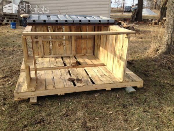 Staging Firewood Made from Upcycled Pallet Skids Lounges & Garden Sets