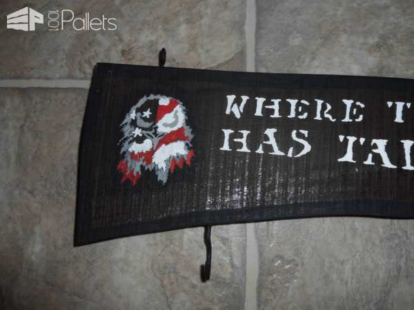 Where the Army Has Taken Me Sign Pallet Wall Decor & Pallet Painting