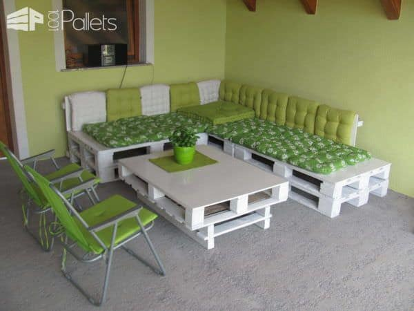 My Pallets Balcony Set Lounges & Garden Sets