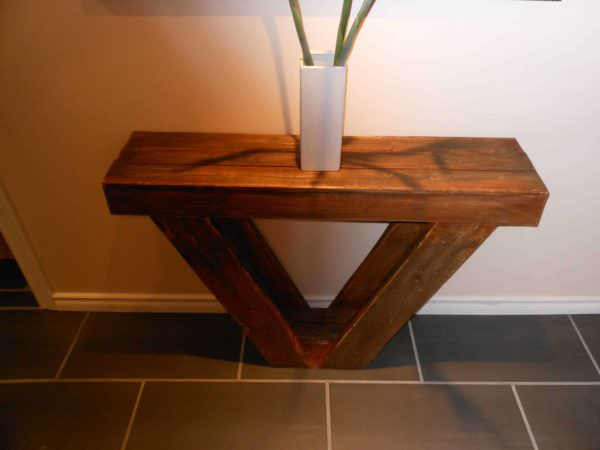 Pallet Sofa Table Pallet Desks & Pallet Tables