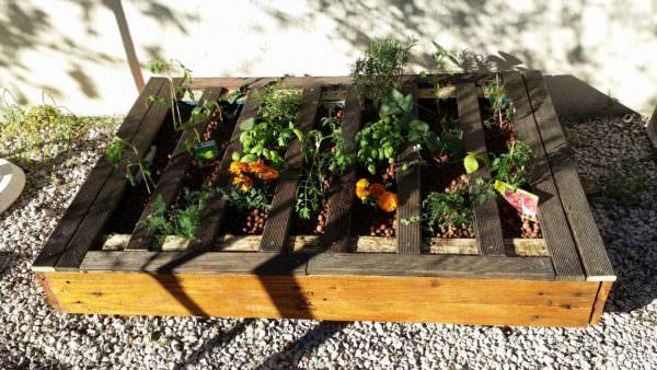 Pallet Squared Planter Pallet Planters & Compost Bins