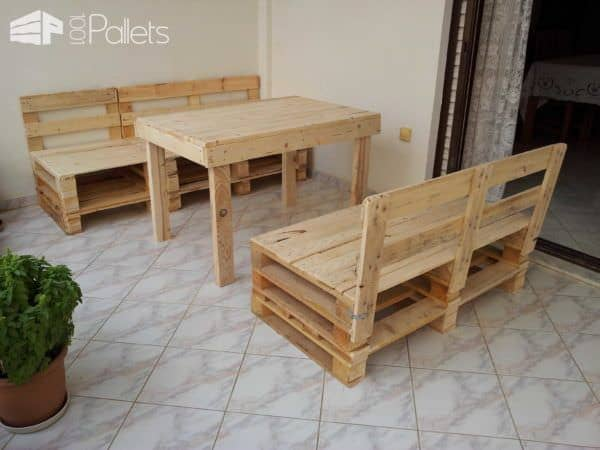 Pallet Works By Zacharias Lounges & Garden Sets Pallet Sheds, Cabins, Huts & Playhouses
