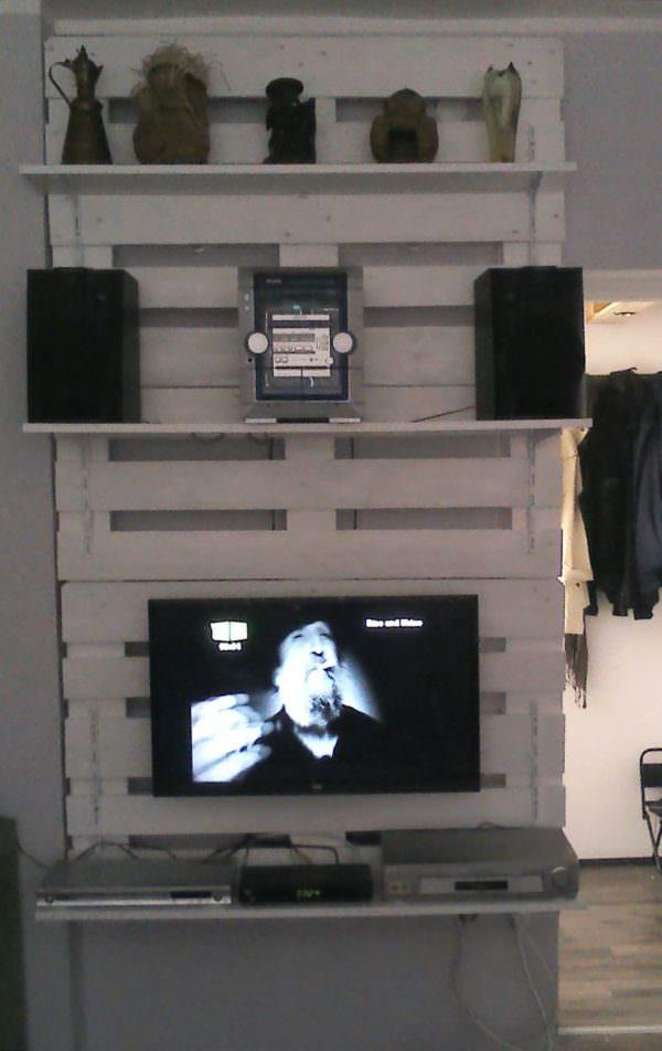 Polica Od Paleta / Pallet TV Stand Pallet TV Stands & Racks