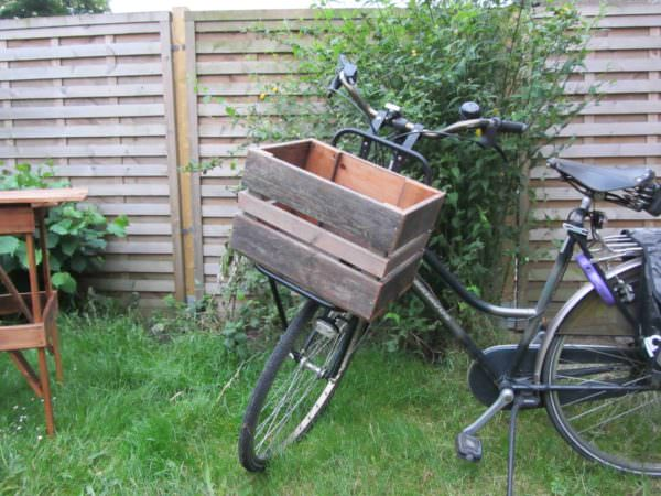 Bicycle Box Made With Recycled Pallets Pallet Boxes & Chests