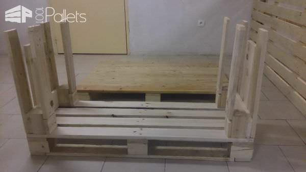 Diy: Pallet Desk Pallet Desks & Pallet Tables