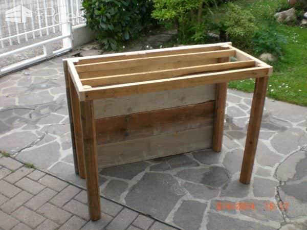 Fioriera Porta Attrezzi / Pallet Planter Toolbox Pallet Planters & Compost Bins