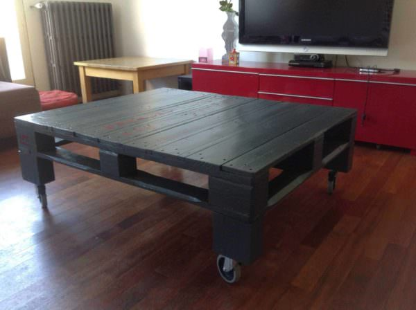 Grey Pallet Coffee Table Pallet Coffee Tables