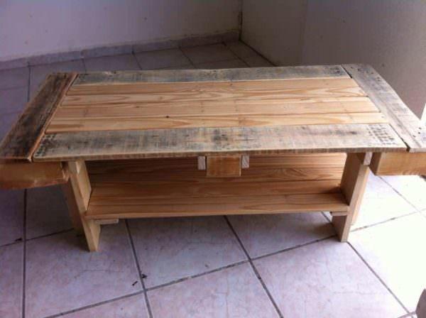 Mesa Para Café / Pallet Coffee Table Pallet Coffee Tables