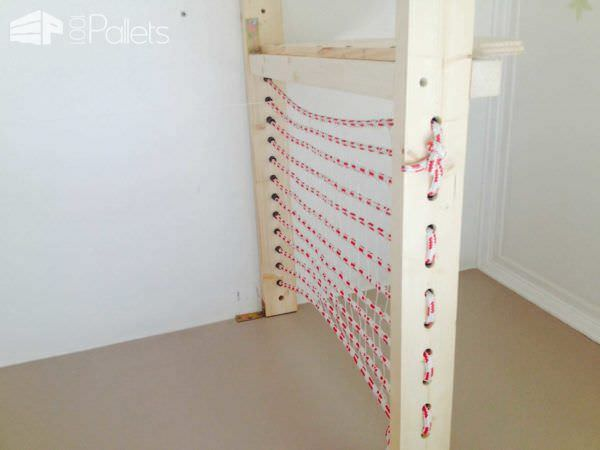 Pallet Pirate Bed Fun Pallet Crafts for Kids