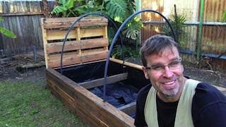 Pallet Raised Garden Bed Pallet Planters & Compost Bins