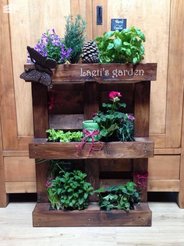 Pallet Vertical Planter Pallet Planters & Compost Bins