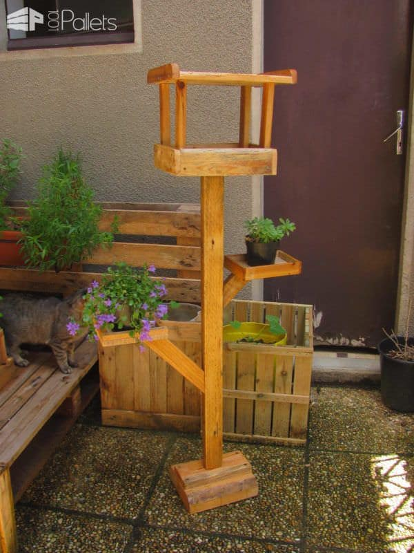 Pallets Stuff For Your Garden Pallets in the Garden