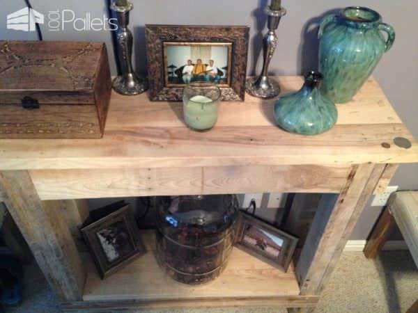 Worth Every Penny, Reclaimed Pallet Furniture Pallet Desks & Pallet Tables