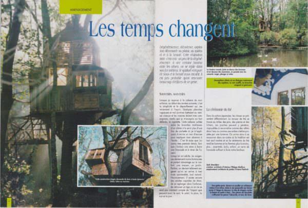 Cabane Dans Les Arbres En Planches De Palettes / Pallets Tree House Pallet Sheds, Cabins, Huts & Playhouses