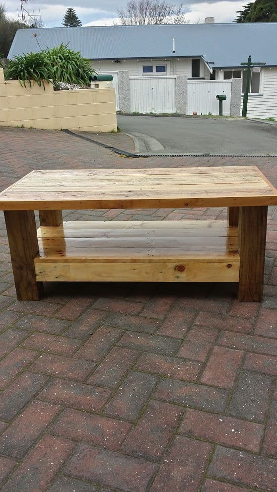 Just Another Pallet Table Pallet Desks & Pallet Tables
