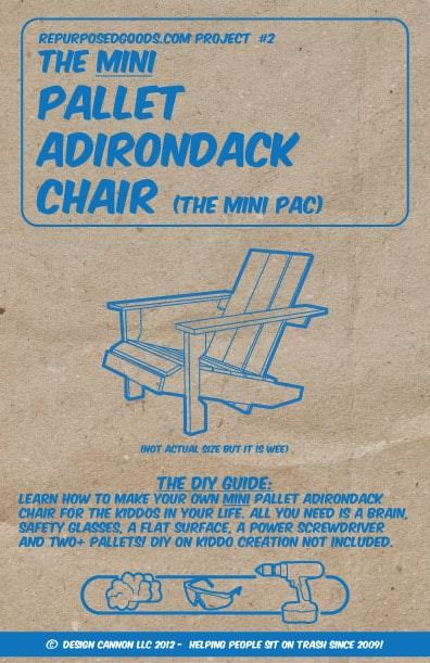 Mini Pallet Adirondack Chair (Diy Guide) Pallet Benches, Pallet Chairs & Stools