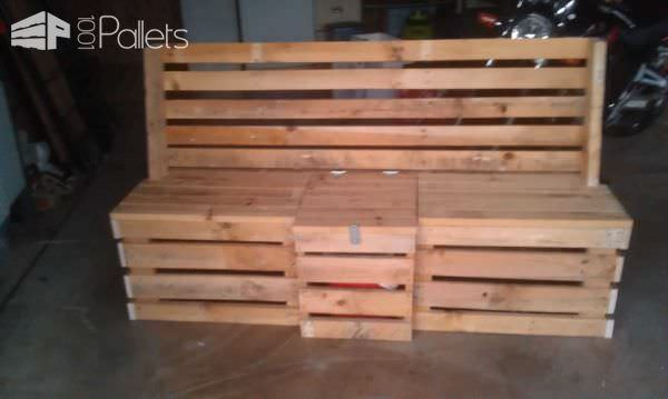 Pallet Outdoor Bench Pallet Benches, Pallet Chairs & Stools Pallet Boxes & Chests