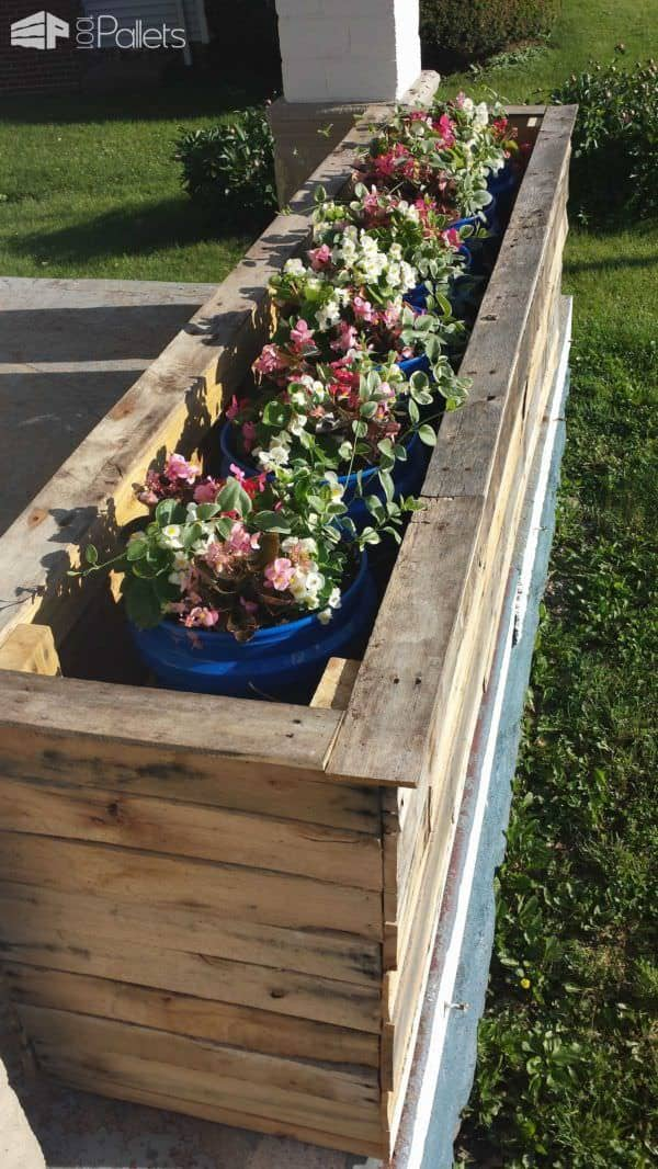 Pallet Planter Boxes Pallet Planters & Compost Bins