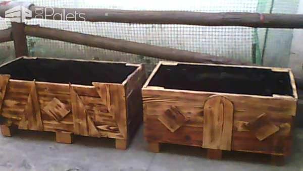 Pallet Yard Flower Pots Pallet Planters & Compost Bins