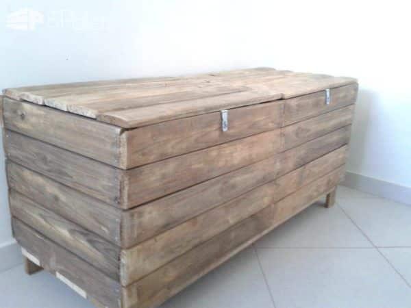 Baú De Madeira Velha / Pallet Boxes Pallet Boxes & Chests